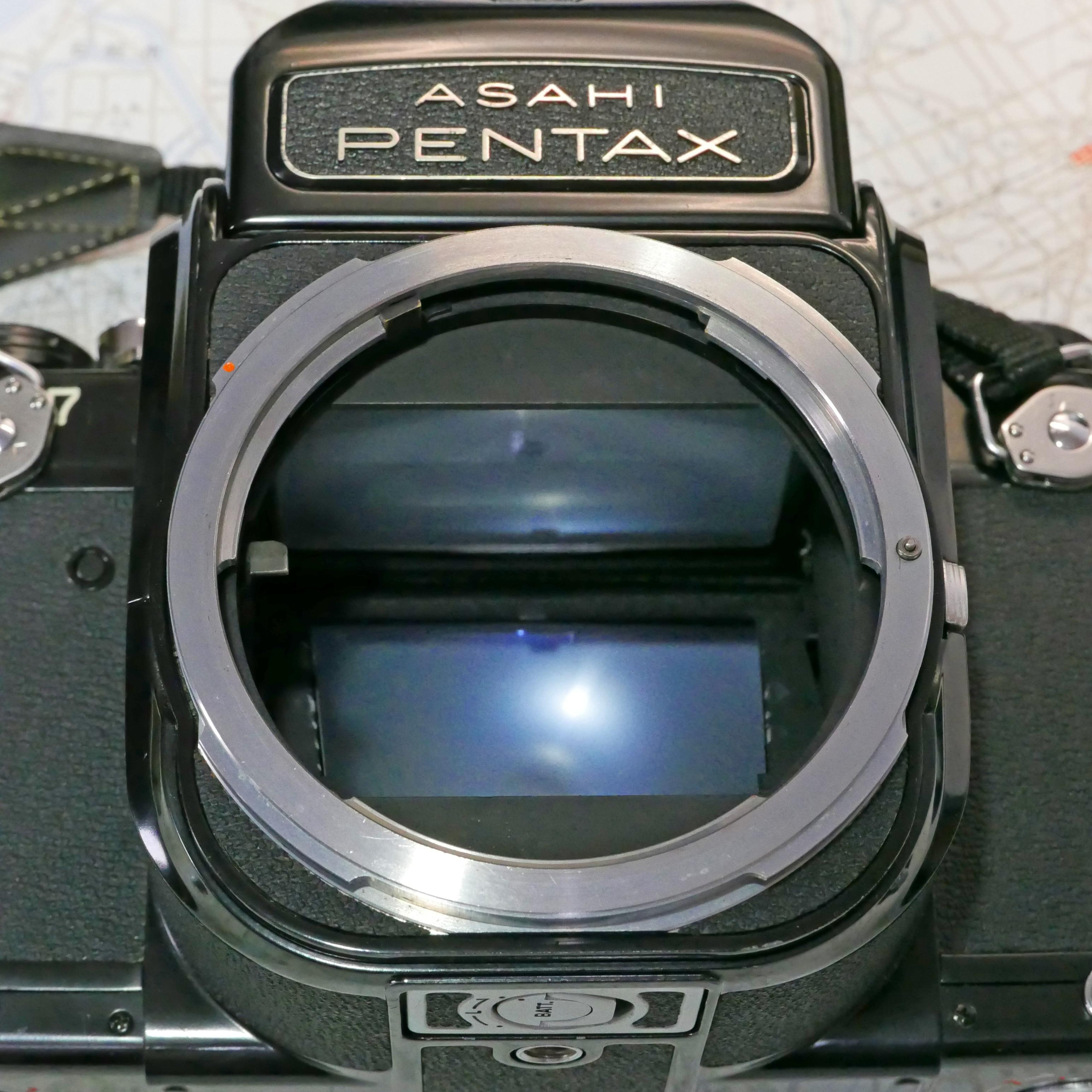 PENTAX67 バケペン