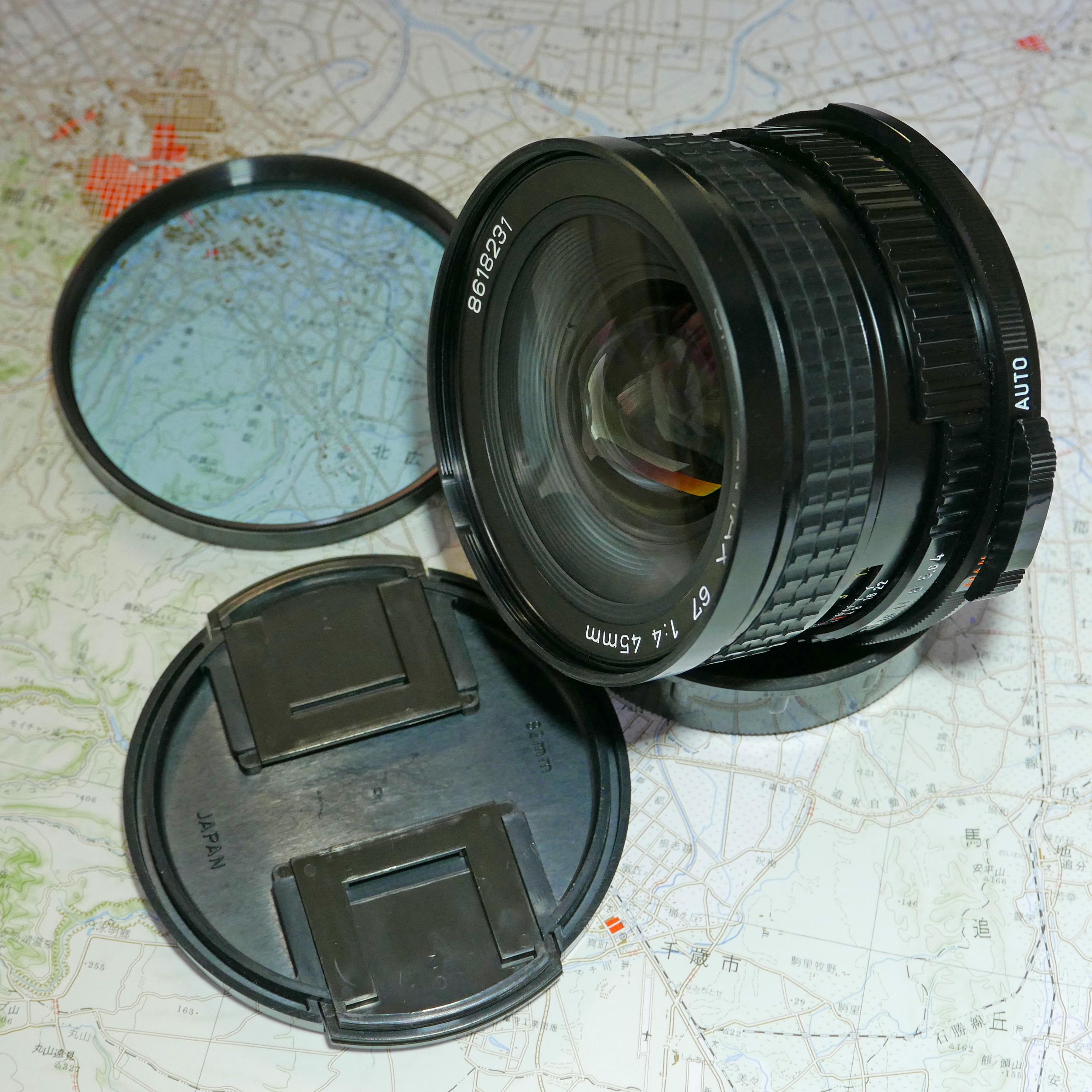 PENTAX67 SMC45mm
