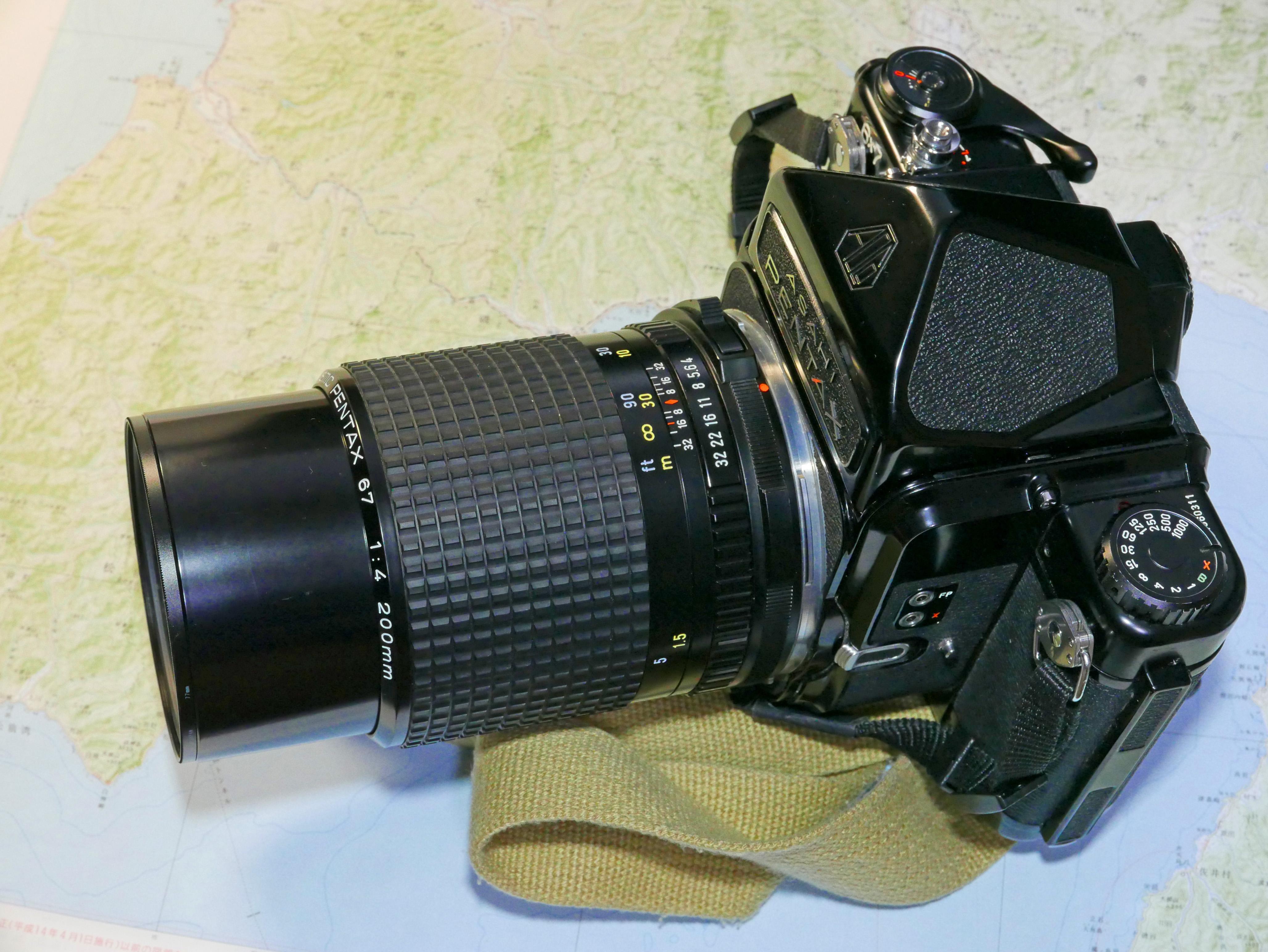 PENTAX67 200mm