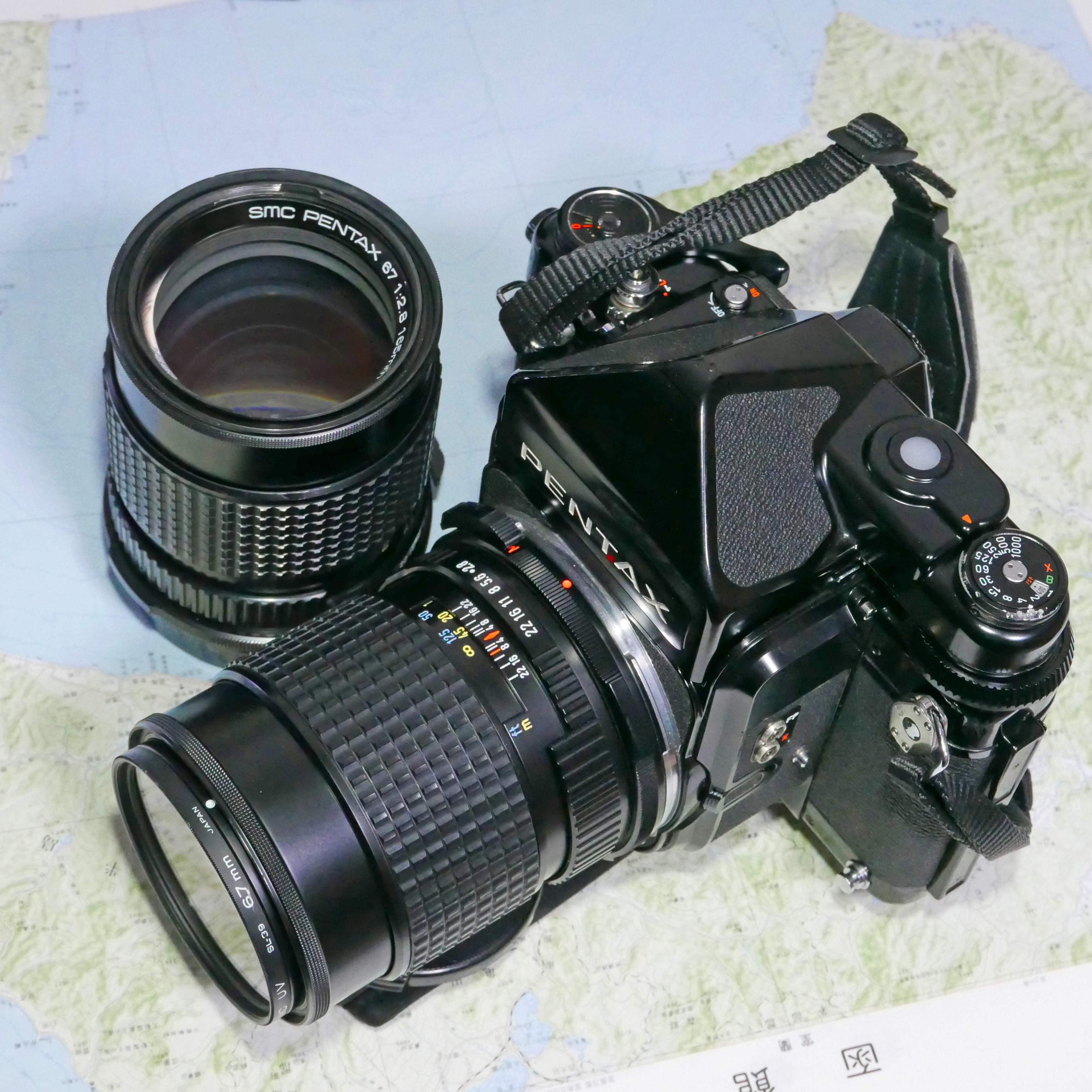 ペンタックス67 165mm